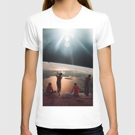Golfers In Space T-shirt