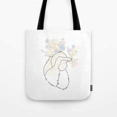 Vagabond Heart Tote Bag