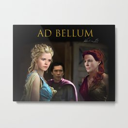 Clarke Ad bellum Metal Print