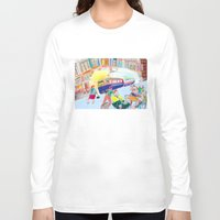 lemon Long Sleeve T-shirts featuring Lemon by ARTION