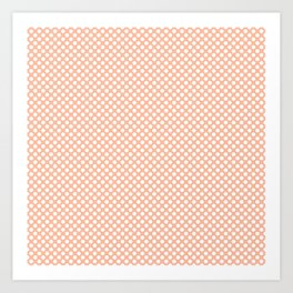 Prairie Sunset and White Polka Dots Art Print