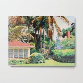 6 Palms Metal Print