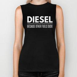 Funny Diesel Roll Coal Diesel Other Fuels Suck Biker Tank