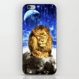 Grumpy Lion iPhone Skin