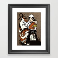 Express Your Funky Ways. Framed Art Print