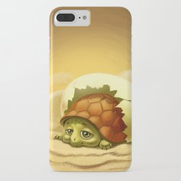 little turtle in the egg iPhone Case