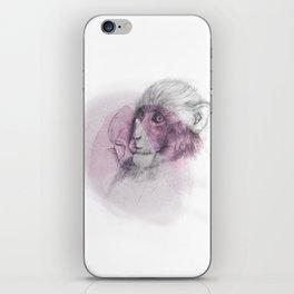 LUNG MONKEY iPhone Skin