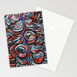 Talking Lips Stationery Cards