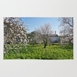 Almond trees in Portugal Rug