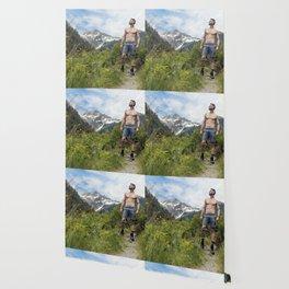 Hiking Man Wallpaper