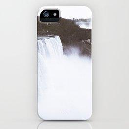 Niagra Falls on film iPhone Case