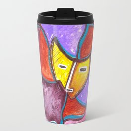 Behind the Mask Travel Mug