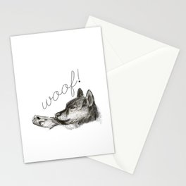 Woof! Stationery Cards