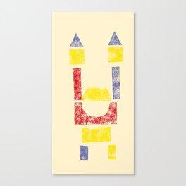 Blockitecture One Canvas Print