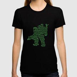 Bastion Typography illustration T-shirt