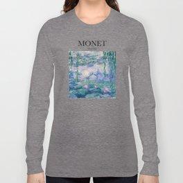 Monet - Water Lilies Long Sleeve T-shirt