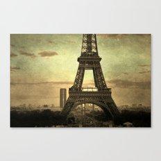 Mon Paris - La Tour Eiffel Canvas Print