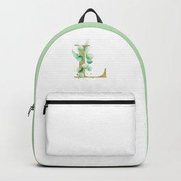Letter L Monogram Backpack