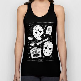 Welcome to Camp Crystal Lake! Unisex Tank Top