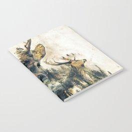 Deer Surrealism Notebook