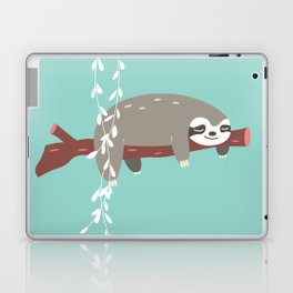 Sloth card - just 5 more minutes Laptop & iPad Skin