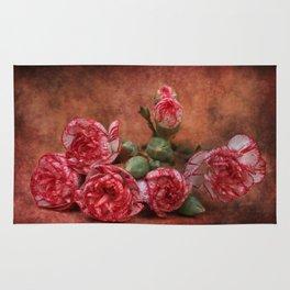 Carnation flowers Rug