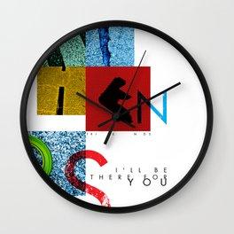 F R I E N D S Wall Clock