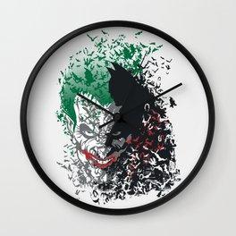 Arkham Bats Wall Clock