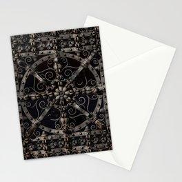 Pretty ornamented gate Stationery Cards