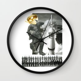 Another Day Begins Wall Clock