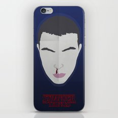 Stranger Things Minimalist Design iPhone & iPod Skin