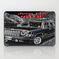jeep iPad Cases featuring JEEP JPATW by Dmarmol