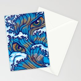 Spirit of the waves Stationery Cards