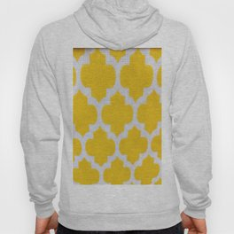 Yellow Cross Pattern Hoody