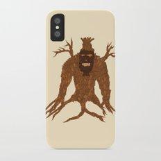 Tree Stitch Monster iPhone X Slim Case
