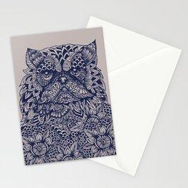 Mandala of Persian Cat Stationery Cards