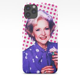 Betty White - Pop Art iPhone Case