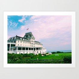Ocean House Hotel in Watch Hill Rhode Island Art Print