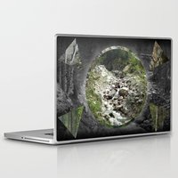 hiking Laptop & iPad Skins featuring Hiking Shapes by Frantom