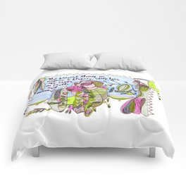 The Fairest Thing in Nature Comforters