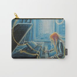 Slave to the Music Carry-All Pouch