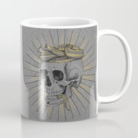 stay gold Mugs featuring stay gold by Laura Graves