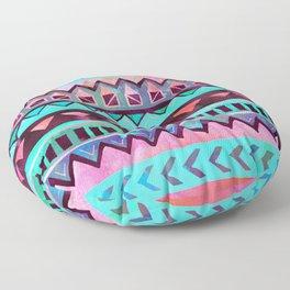 Tribal Pattern 05 Floor Pillow