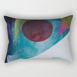Earthscape on the Moonrise Rectangular Pillow