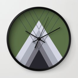 Iglu Kale Wall Clock