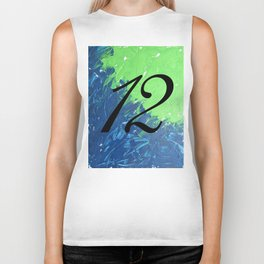 Blue & Green, 12, No. 1 Biker Tank