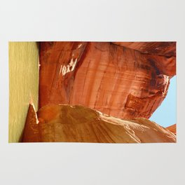 Antelope Canyon On Lake Powell Rug