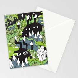 Little Lurkers Stationery Cards