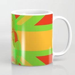 Blondie in Green Coffee Mug
