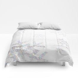 Snowflake Glitter Comforters